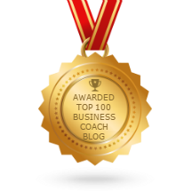 Top 100 business coach blog award